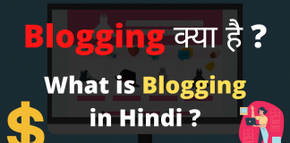 What is Blogging in Hindi ? Blogging Kya Hai in Hindi ? - Internet Duniya